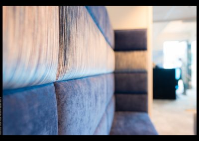 Detalj Innebygget sofa, Design 4ROOMS