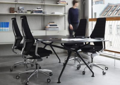 REF NEW OfficeChair W5 Wagner Dondola W-Table